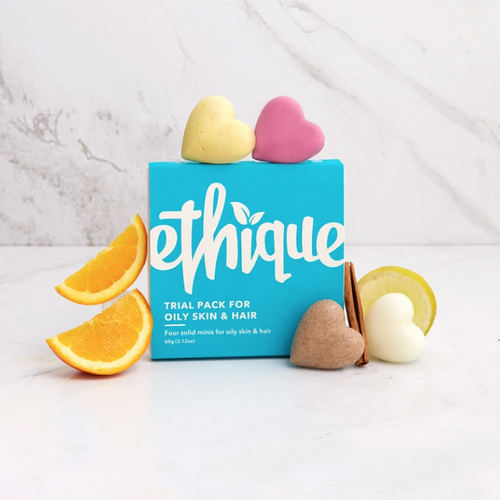 Ethique Trial Pack (for Oily skin & hair)