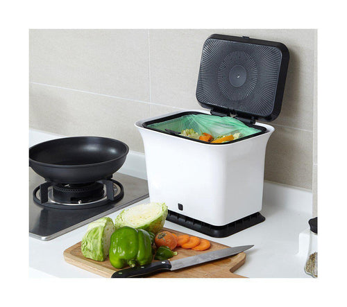 Odor-Free Kitchen Compost Collector-Full Circle-Comfily Living