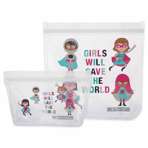 Lunch Bag (Girl Heroes)-Full Circle-Comfily Living