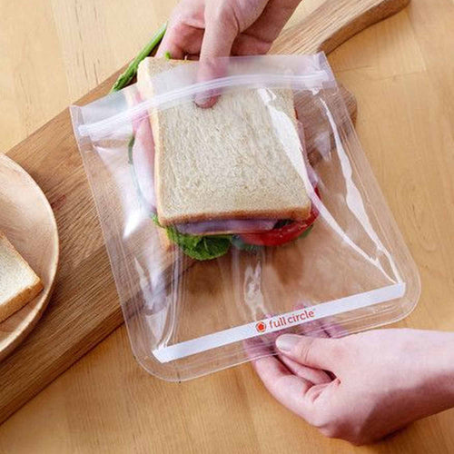 Food Bag (Transparent)-Full Circle-Comfily Living
