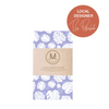 Premium Cotton Beeswax Wrap by The Patternholic (Monstera Mania) - Comfily Living