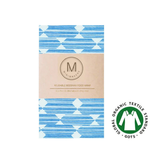 Organic Cotton Beeswax Wrap (Chromosomes) > Comfily Living > Hong Kong