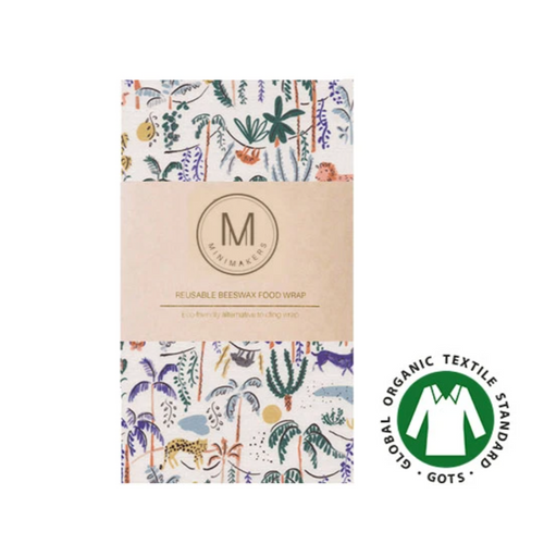 Organic Cotton Beeswax Wrap (Savanna)  - Comfily Living