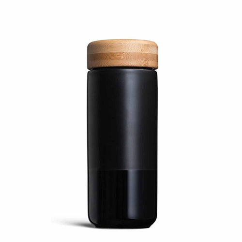 SOMA Insulated Ceramic Travel Mug (Black)-SOMA-Comfily Living
