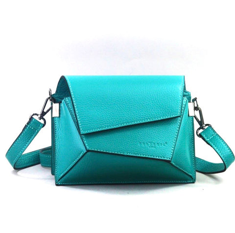 Geometric Flap Mini Crossbody - Big Bag