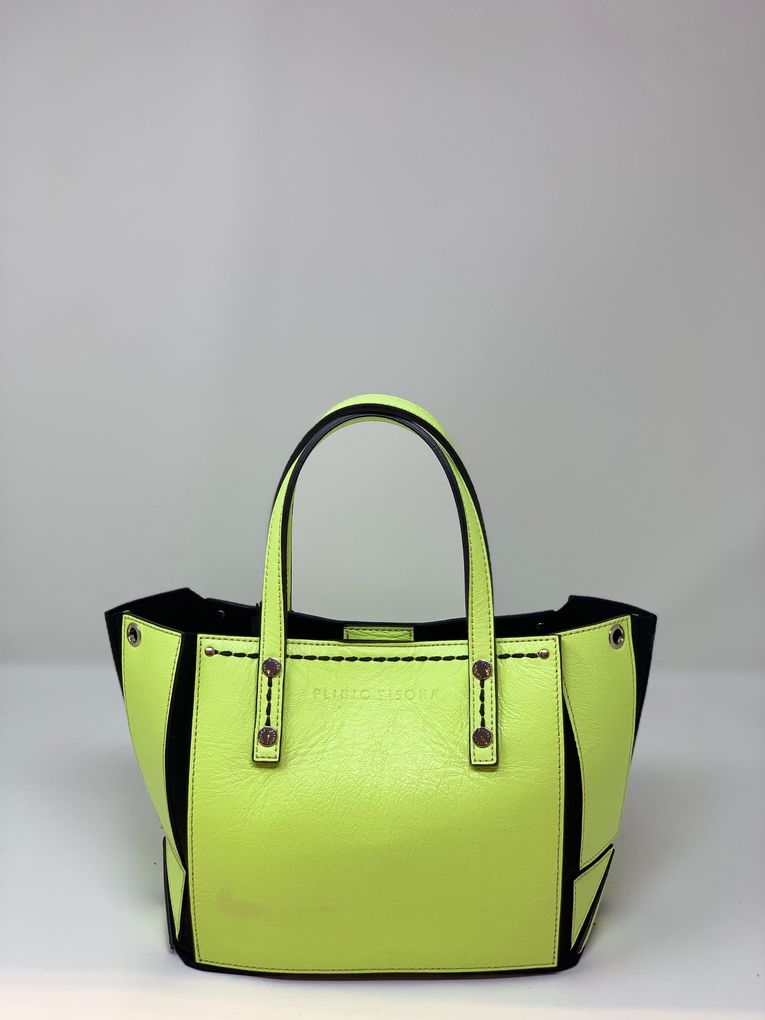 Small Neon Origami Tote - Big Bag