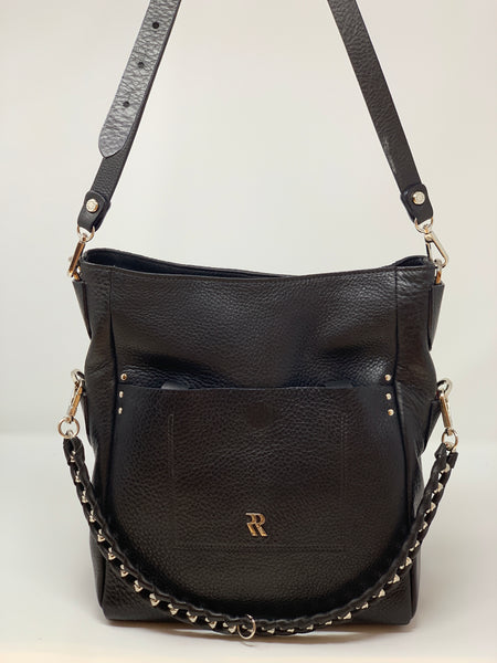 Rossi Vertical Square Tote with Chain Detail - Big Bag