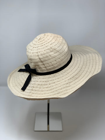 Floppy Wide Brim Cotton Sun Hat - Big Bag