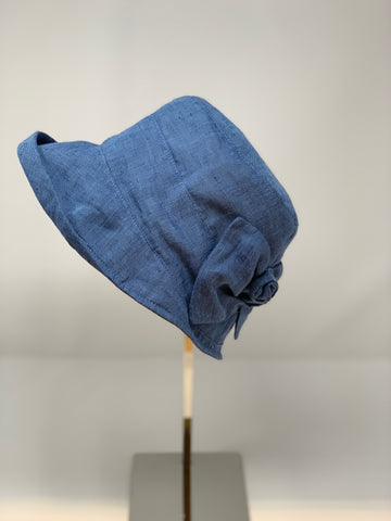 Chambray Foldable Cloche - Big Bag