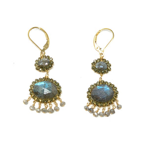 Labradorite Tiered Chandeliers - Big Bag