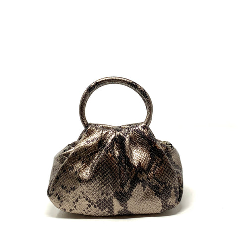 Python Handle Pillow Mini Bag