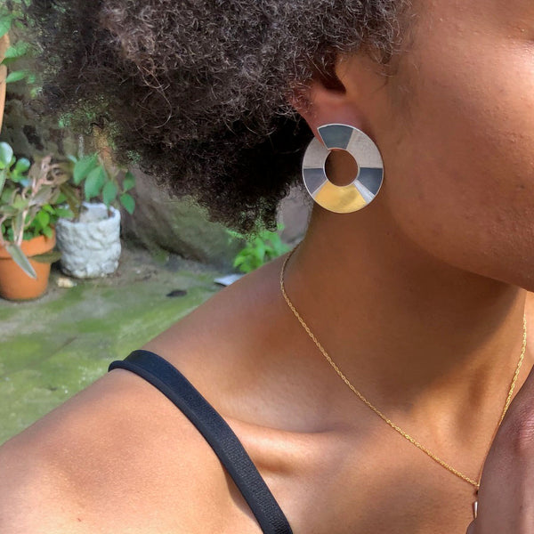 Ce Post Hoop Earrings