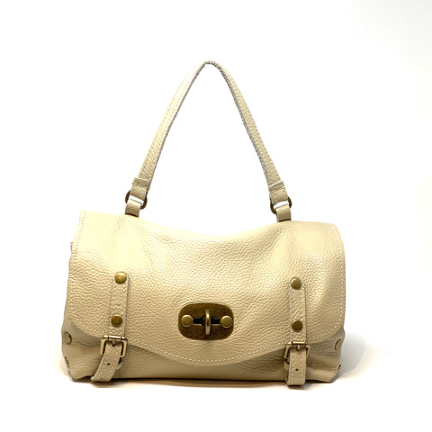 Turnlock Mini Flap satchel - Big Bag