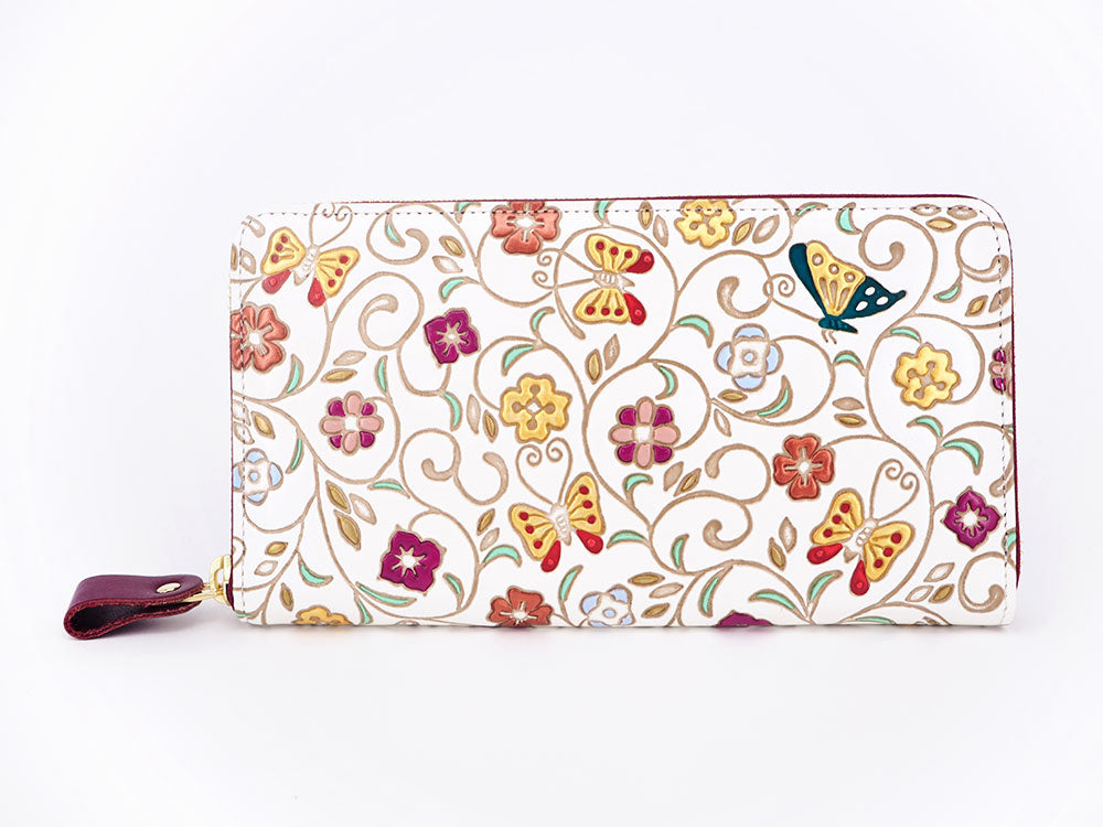 Butterfly Flight Long Zip Around Wallet - Big Bag