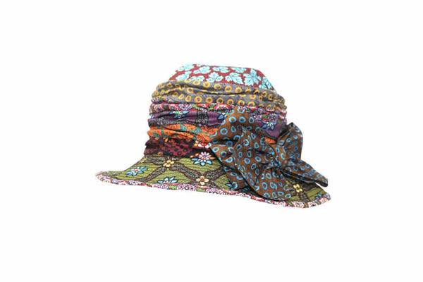 Liberty Patchwork Cloche