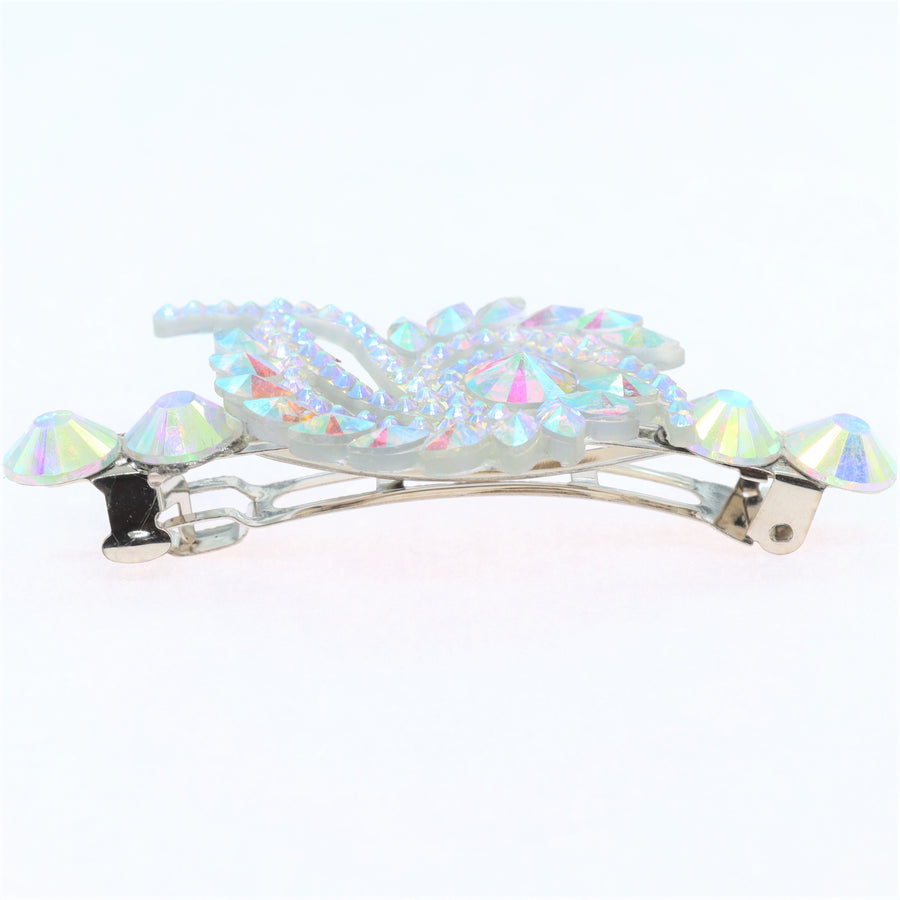 Hairpin with crystal flame