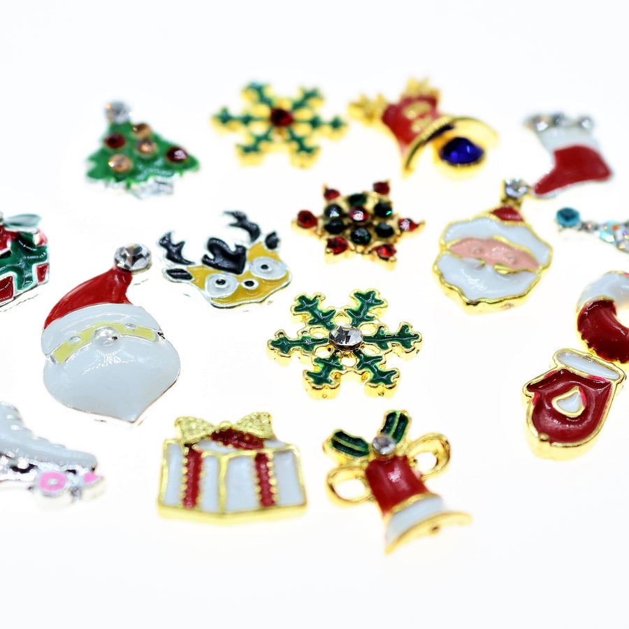Christmas | Nail Art Charms | #1 - 16 pieces