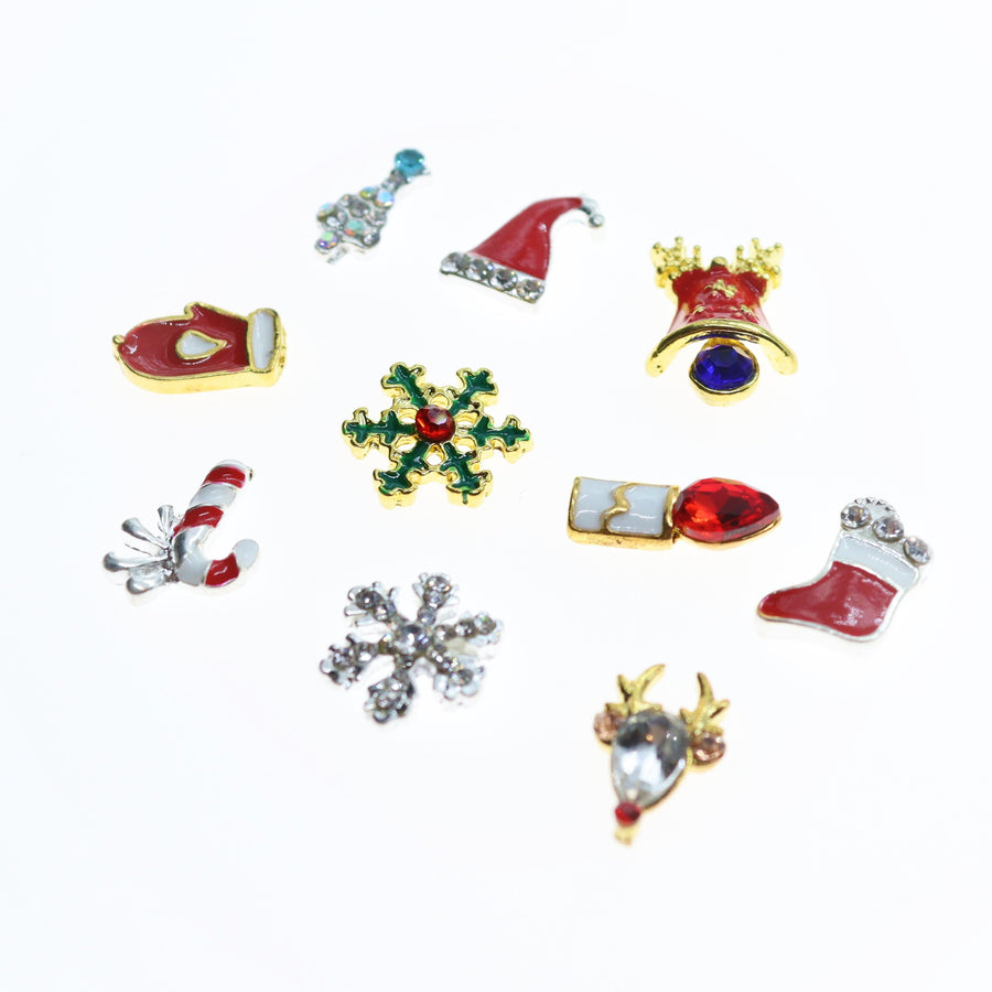Christmas | Nail Art Charms | #2 - 10 pieces
