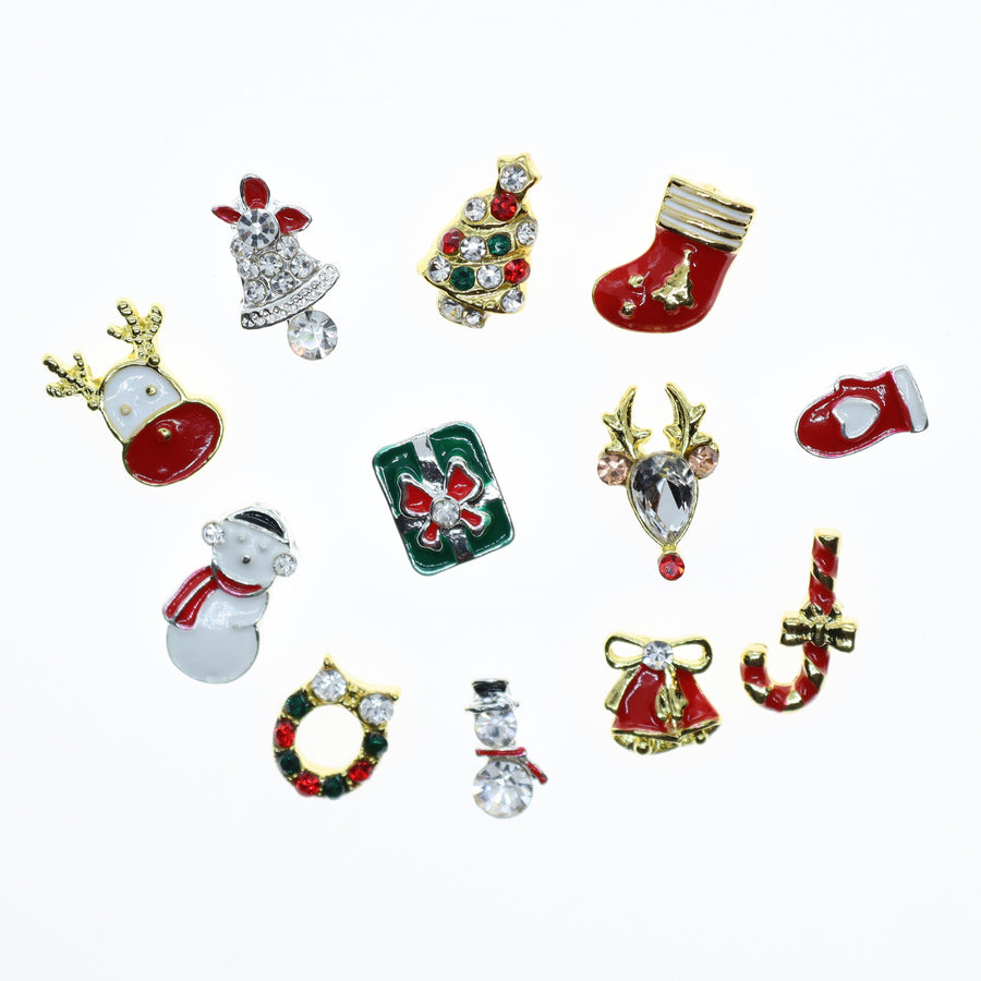 Christmas | Nail Art Charms | #3 - 12 pieces
