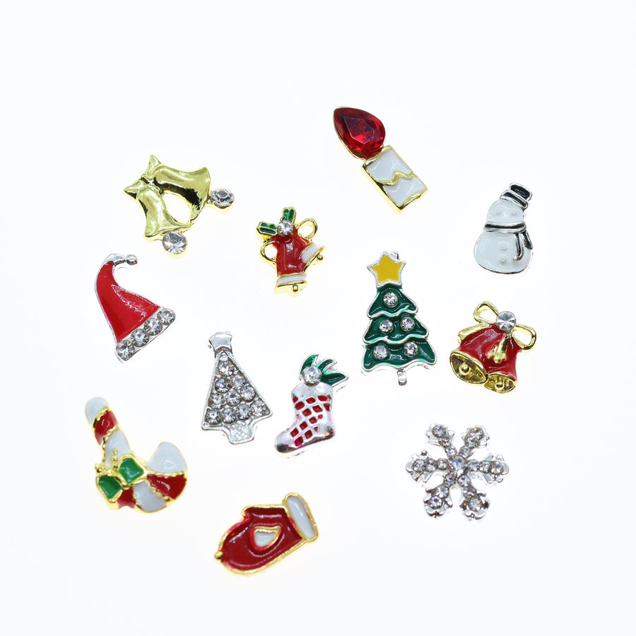 Christmas | Nail Art Charms | #4 - 12 pieces
