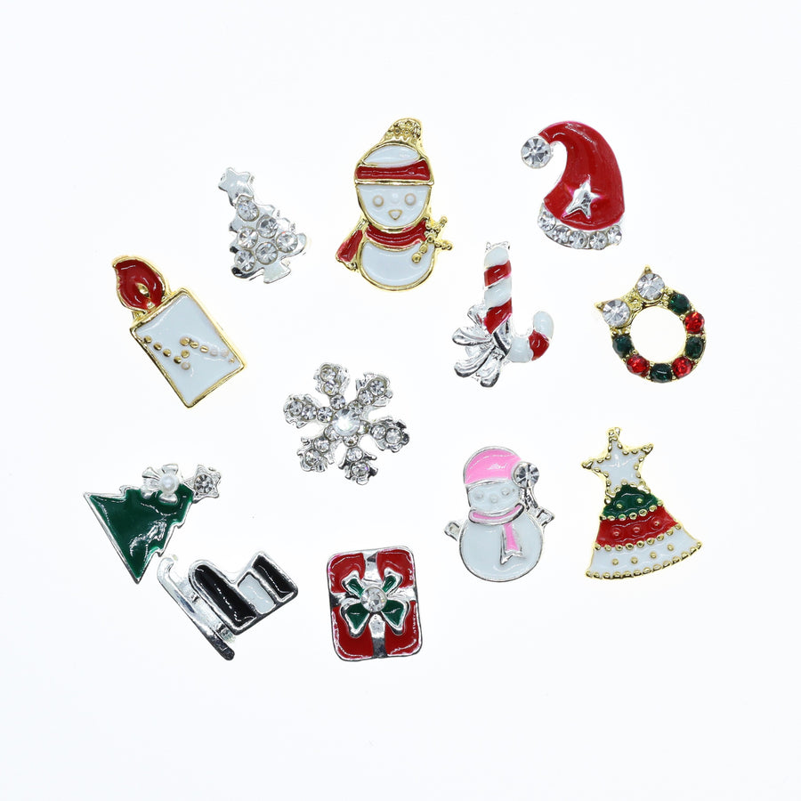 Christmas | Nail Art Charms | #5 - 12 pieces