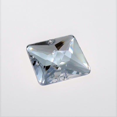 Acryl - Square Sewing Stone - Crystal