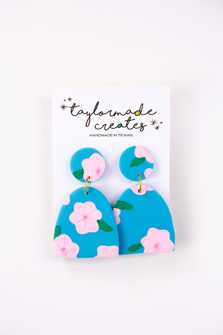 Large Clay Earrings
