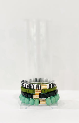 The Grinch Stack - Black, Olive, Zebra & Pistachio