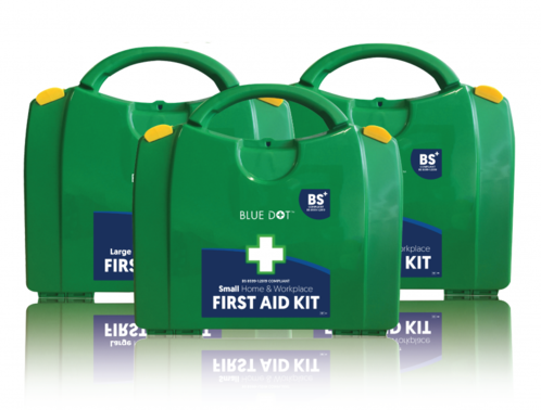 The difference between new and old BSI first aid kit standards