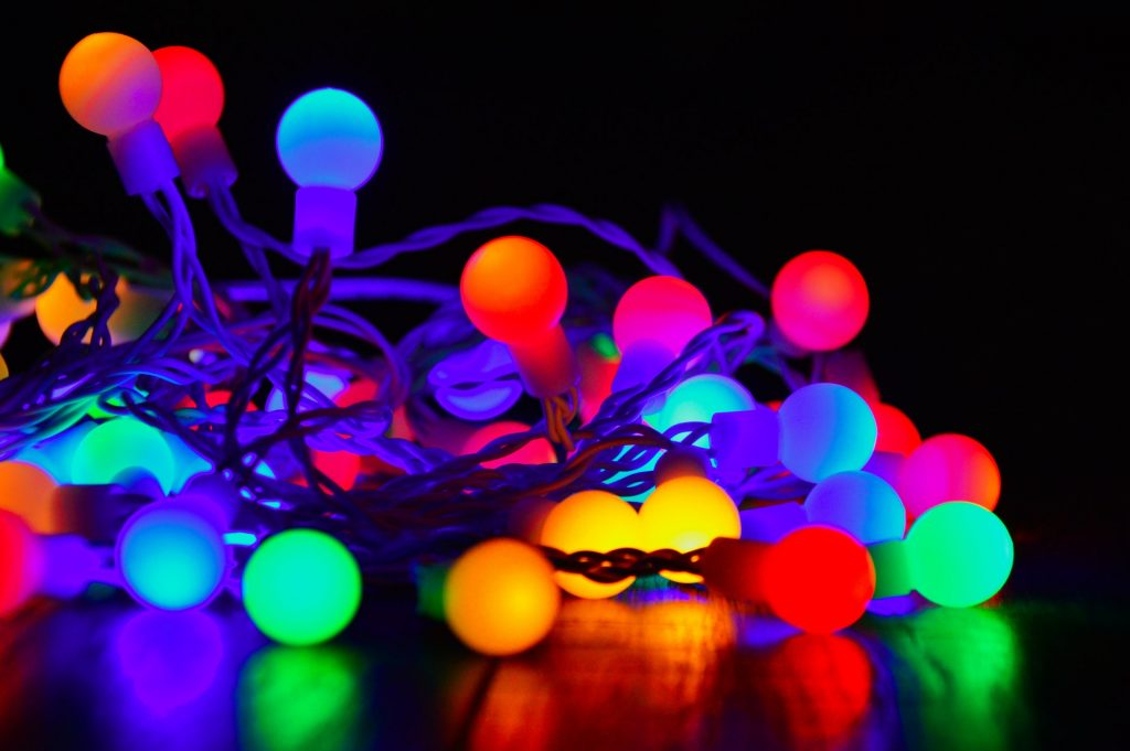 Fairy lights.
