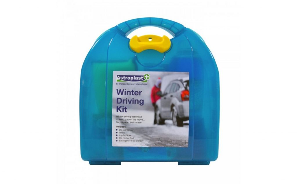 A winter driving kit