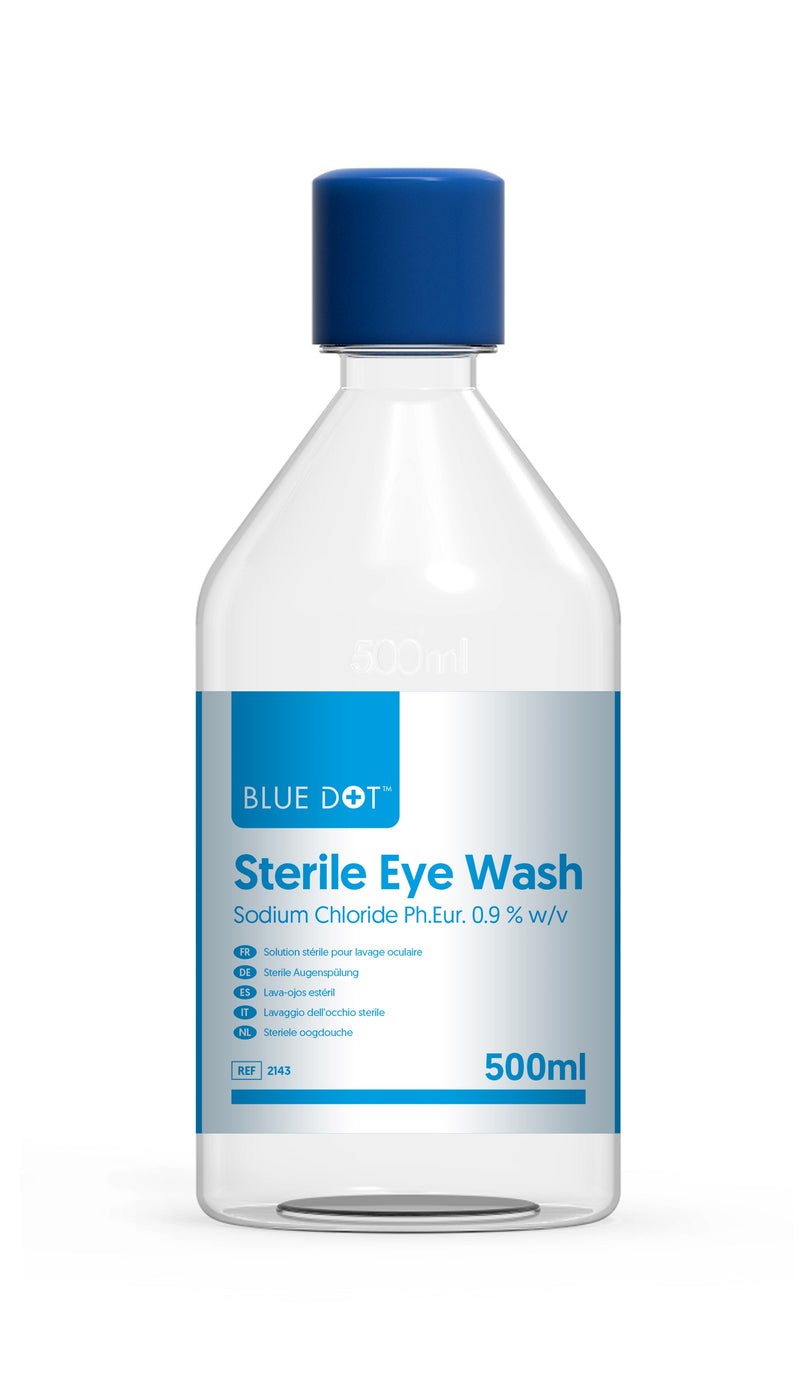 500ml Sterile Eyewash Solution