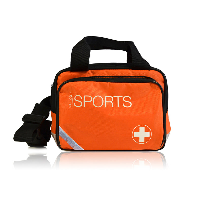 Blue Dot Essential Sports Kit Complete in Small Orange Bag
