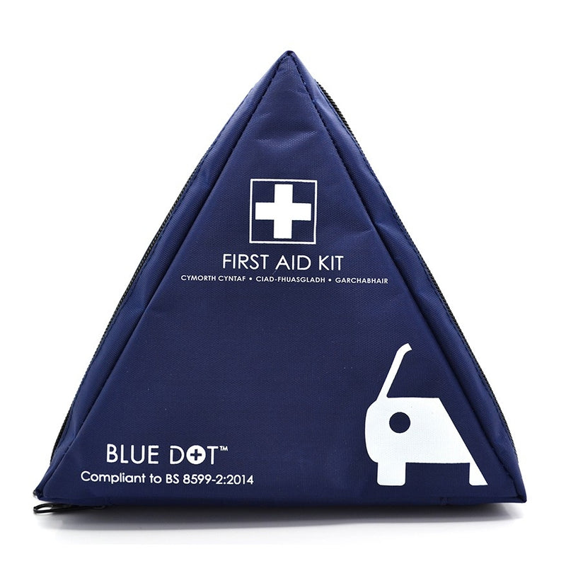BS8599-2 Compliant Motorist First Aid Kits in Bag