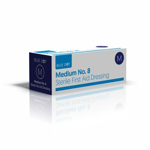 Blue Dot No9 Boxed Large Wound Dressing