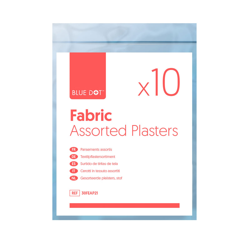 Fabric Plasters Assorted Bag of 10
