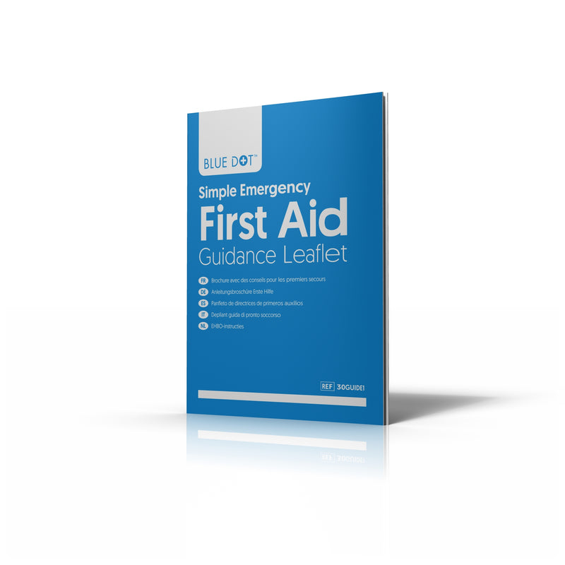 Blue Dot First-Aid Guidance Leaflet