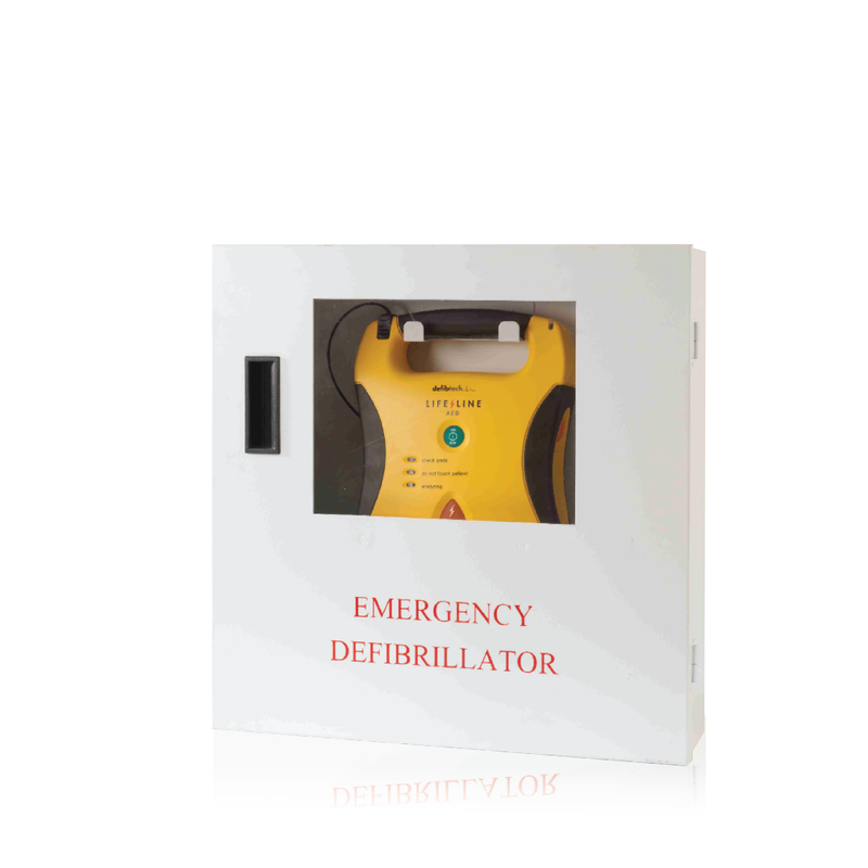Defibtech Lifeline Wall Mounted AED Cabinet (Alarmed)