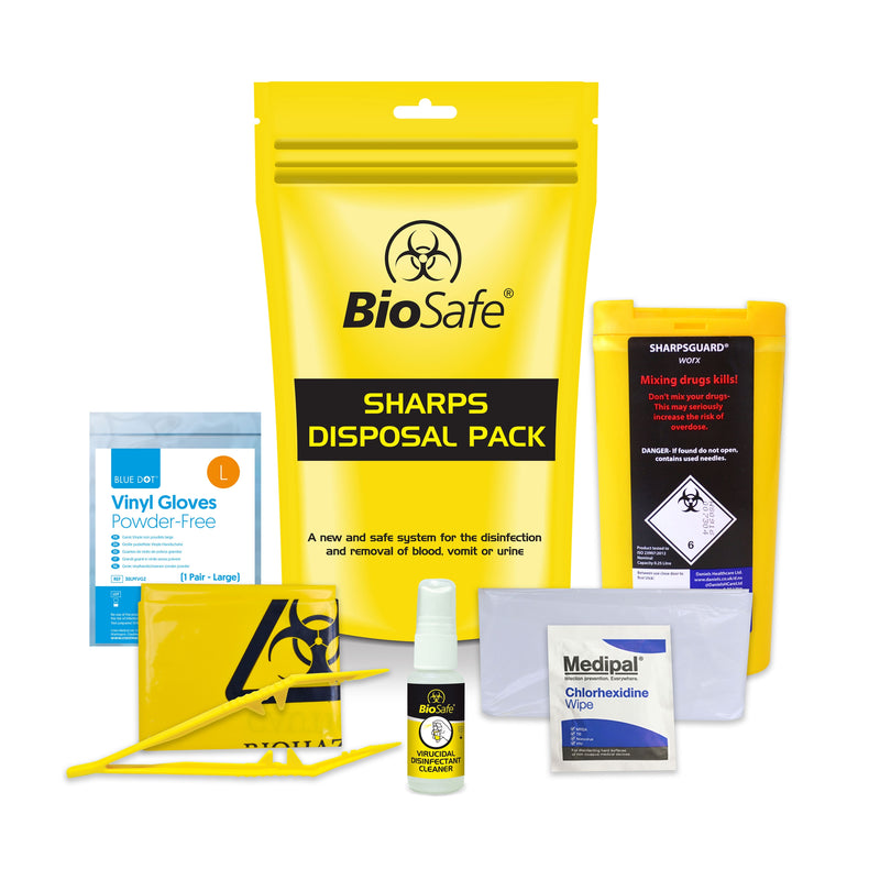 Premium Sharps Disposal Pack
