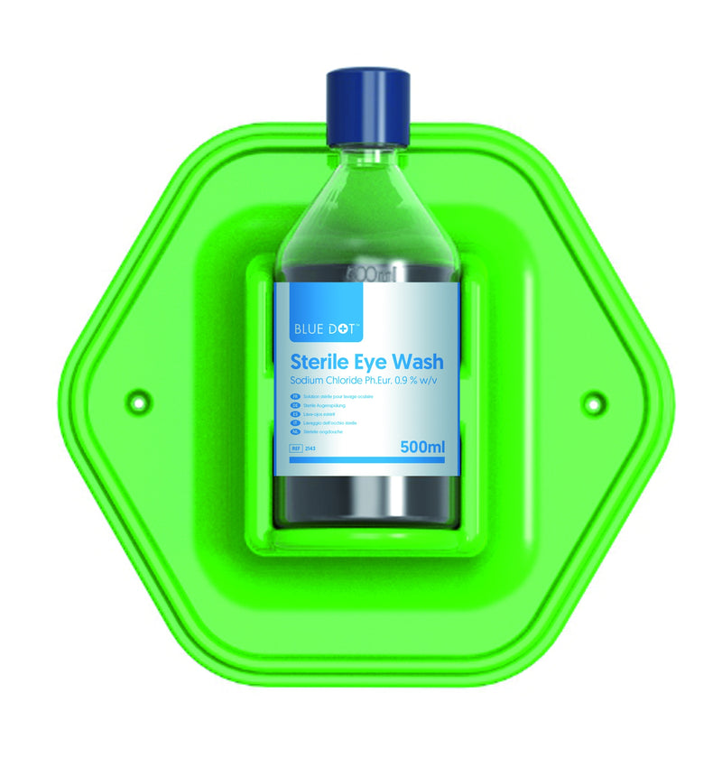 Blue Dot 1 x 500ml Eye Wash Station
