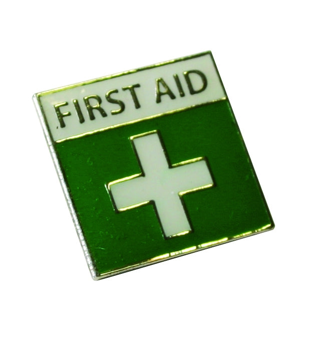 First-Aid Badge With Pin & Catch