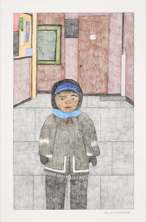 Kudluajuk Ashoona; Untitled (Young Child)