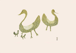 Family of Birds, 1965