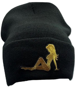 MV Trucker Girl Gold  Beanie - Unisex