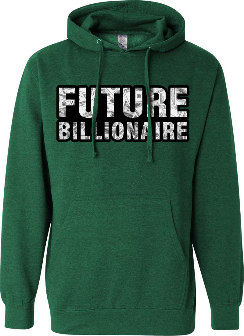 MV Future Billionaire Hoodie Kelly Green - Unisex