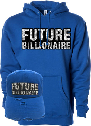 MV Future Billionaire Hoodie Royal Blue- Unisex