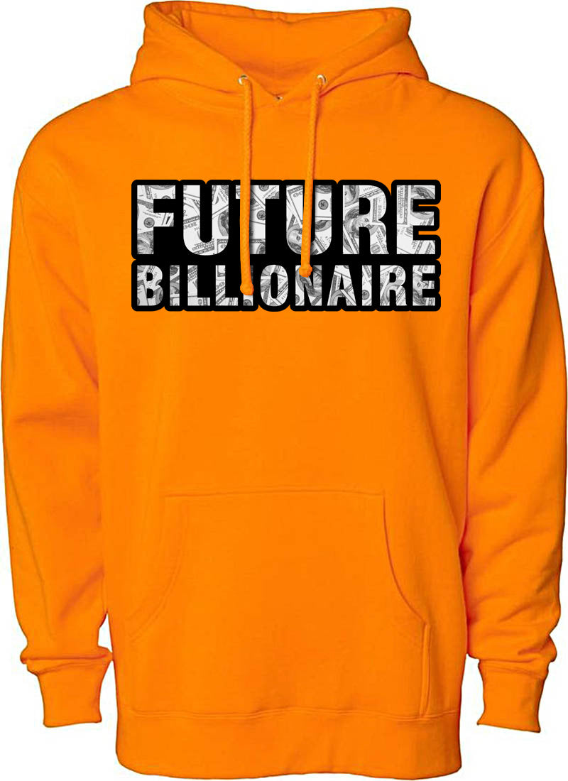 MV Future Billionaire Hoodie Orange - Unisex