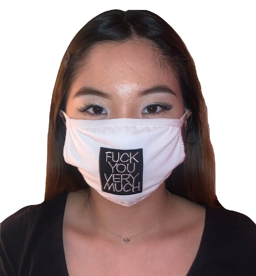 MV Fcks You Very Much Face Mask- Unisex