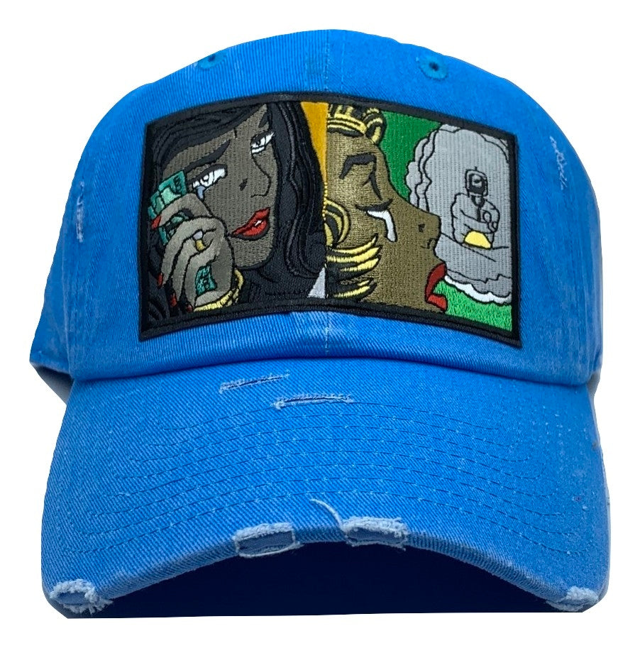 Tears and dollars - neon - MVDADHATS