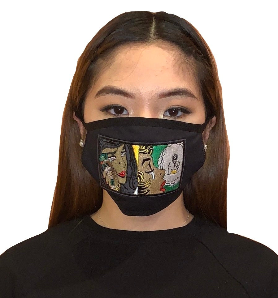 MV Tears and Dollars Face Mask- Unisex